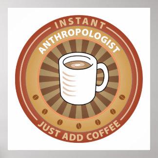 Antropólogo inmediato impresiones