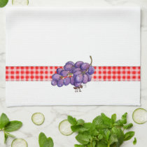 Ants and Grapes - Kitchen Towel