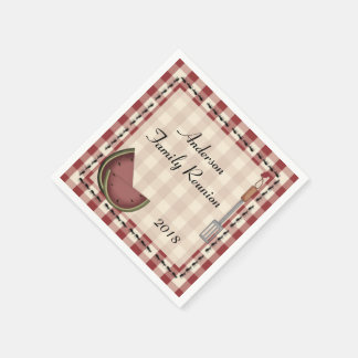 Ants and Watermelon Picnic Napkins Disposable Napkin
