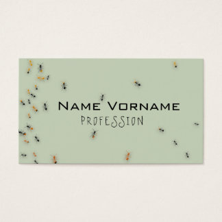 ants business card