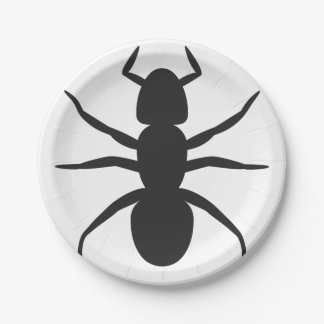 "ANTS  Custom Paper Plates 7"""