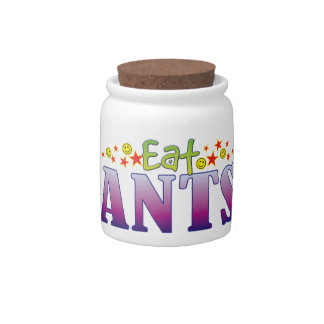 Ants Eat Candy Dishes