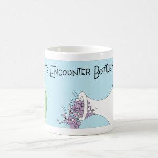 Ants encounter a bottleneck coffee mug