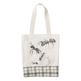 Ants go Marching In Tote bag