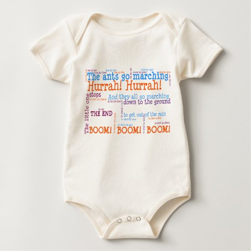 Ants Go Marching Infant Baby Bodysuit