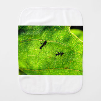Ants Green Acre Burp Cloth