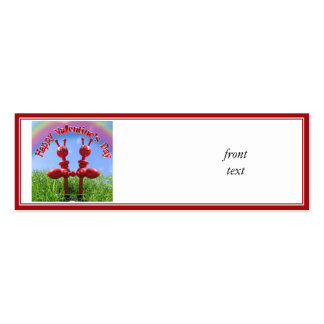 Ants in the Grass Double-Sided Mini Business Cards (Pack Of 20)