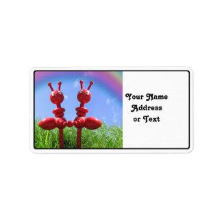 Ants in the Grass Custom Address Label