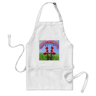 Ants in The Grass - Valentine's Day Adult Apron