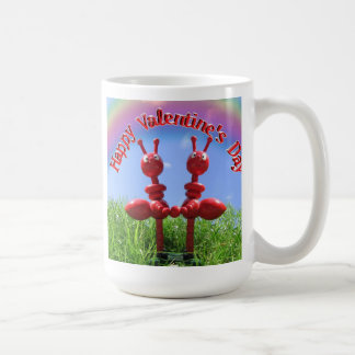 Ants in The Grass - Valentine's Day Coffee Mug