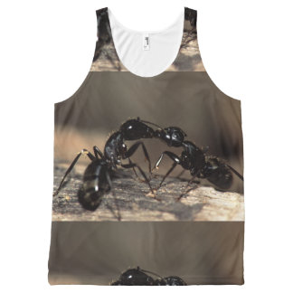 ants kissing All-Over print tank top