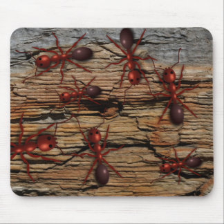 "Ants N' Wood ""Infested"" Mousepad"
