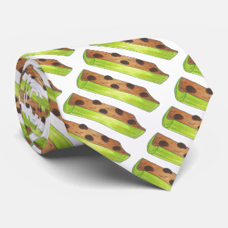 Ants on a Log Celery Peanut Butter Raisins Tie