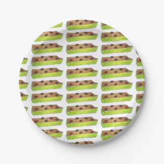 Ants on a Log Paper Plates