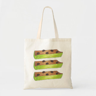 Ants on a Log Peanut Butter and Celery Sticks Tote