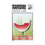 Ants Picnic Postage Stamp