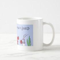 Ants play dominos coffee mug