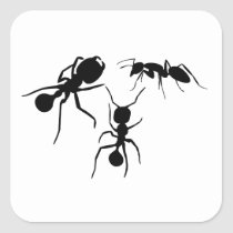 Ants Square Sticker