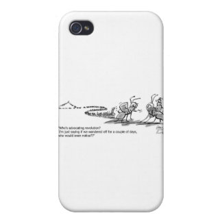 Ants Wandering iPhone 4 Case