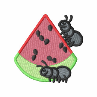 Ants with watermelon polo shirt