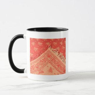 Antuque Turkey Red Linen Mug