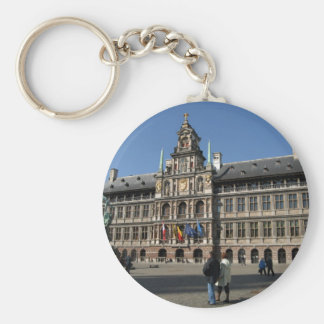 Antwerp Belgium 16th century City Hall Keychain