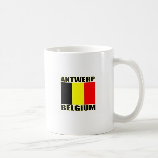 Antwerp, Belgium Classic White Coffee Mug