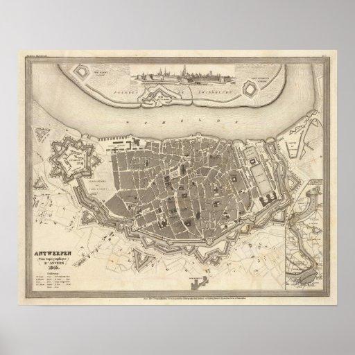 Antwerp, Belgium Poster