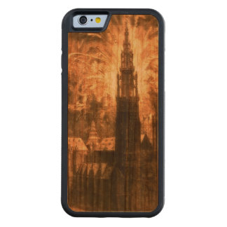 Antwerp-Cathedral-Fireworks 17th-Century Casing Carved Cherry iPhone 6 Bumper Case
