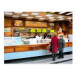 Antwerp, fast food, Belgian style, Post Card