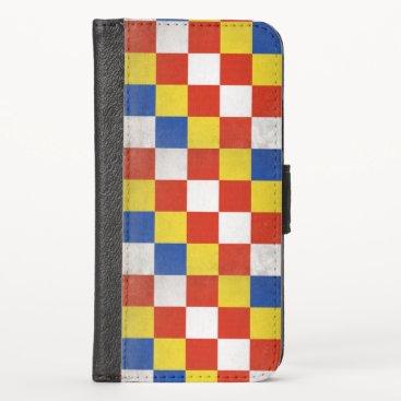 Antwerp iPhone XS Wallet Case