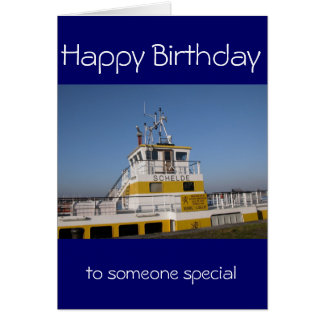 Antwerp, Scheldt support vessel 01h Card