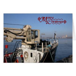 Antwerp, Scheldt support vessel 02 Card