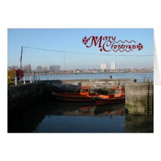 Antwerp, Scheldt support vessel 02c Card