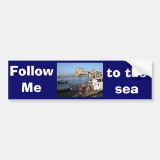 Antwerp, Scheldt support vessel 04a Bumper Stickers