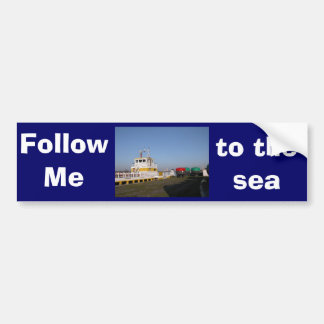 Antwerp, Scheldt support vessel 04b Bumper Stickers