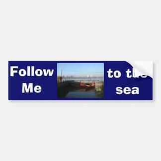 Antwerp, Scheldt support vessel 04c Bumper Stickers