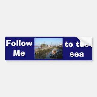 Antwerp, Scheldt support vessel 04d Bumper Sticker