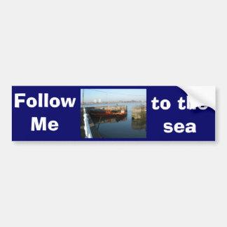 Antwerp, Scheldt support vessel 04f Bumper Sticker