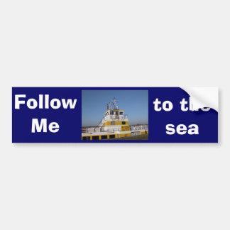 Antwerp, Scheldt support vessel 04g Bumper Stickers