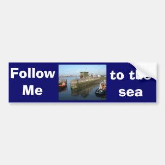 Antwerp, Scheldt support vessel 04h Bumper Sticker