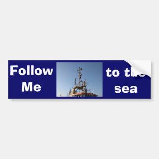 Antwerp, Scheldt support vessel 04j Bumper Stickers