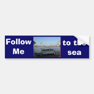 Antwerp, Scheldt support vessel 04k Bumper Stickers