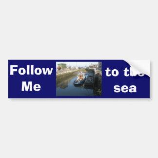 Antwerp, Scheldt support vessel 04l Bumper Sticker