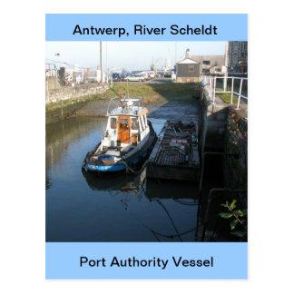 Antwerp, Scheldt support vessel 13 Postcard