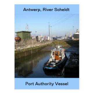 Antwerp, Scheldt support vessel 6 Postcard