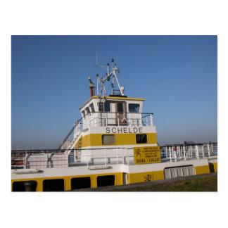 Antwerp, Scheldt support vessel 8 Postcard