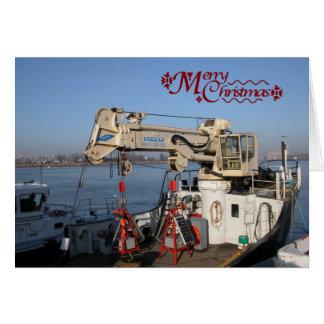 Antwerp, Scheldt support vessel Card