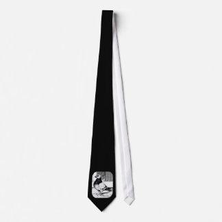 Antwerp Short Faced Pigeon Neck Tie
