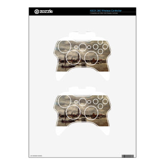 Antwerp, the Schelde by Eugene Boudin Xbox 360 Controller Decal